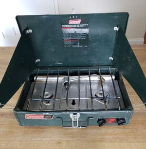 Coleman Stove Propane 2 Burners Model 542B450 for Sale in Annapolis, MD