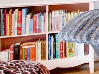 Solid wood pink bookshelf cubby for Sale in Lake Oswego,  OR