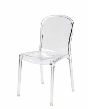 Polycarbonate dining chair clear for Sale in Hackensack, NJ