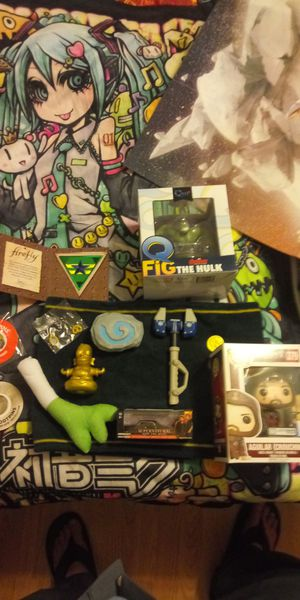 .Toy Collectibles. Hearthstone. Ratchet and clank.homer. firefly. Q fig the hulk. Supernatural die cast car. Pop! Assassins creed for Sale in Chandler, AZ