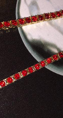 """24"""" Blood Diamond Tennis's chain for Sale in Dayton,  OH"""