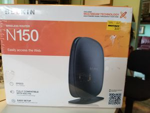 Belkin router unopened for Sale in Clinton Township, MI