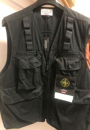 Stone Island Supreme Vest XL Black for Sale in Fairfax, VA