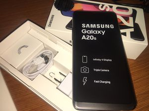 "Samsung galaxy A20 , factory unlocked dual screen 6 "" screen ' any sim for Sale in Silver Spring, MD"