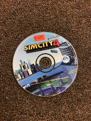 Simcity 4 disk 1 PC for Sale in Bakersfield, CA