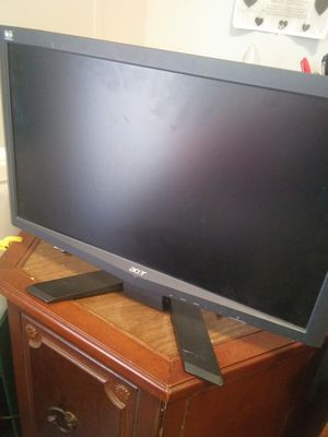 Acer Computer Monitor! for Sale in Fort Payne, AL