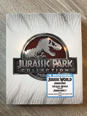 Jurassic Park Collection (includes Jurassic World) Blu Ray for Sale in Bremerton, WA