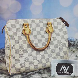 Louis Vuitton speedy 25 damier azure for Sale in Streamwood, IL