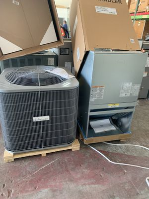 Ac unit set 3 tons installed NEW for Sale in Miami Gardens, FL