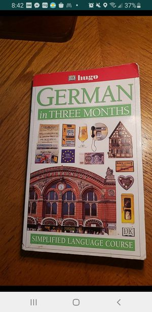 Peoria az German in three months book please read description for pick up location options for Sale in Sun City, AZ