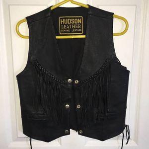 Hudson original leather vest for Sale in Tampa, FL