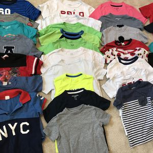 Used, Boys clothes lot sizes 4-6 clothes shoes hats for Sale for sale  Matthews, NC