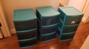 Sterilite Plastic Drawers / Bins for Sale in Villa Park, CA