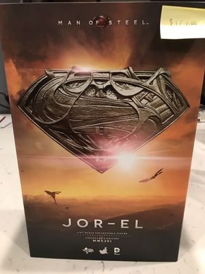 Hot Toys 1/6th scale Jor El figure for Sale in Norwalk, CA