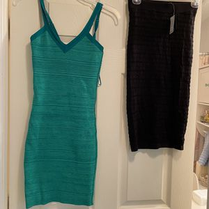 ) Guess Dresses Size Small (Black one still has tags on for Sale in Stuart, FL