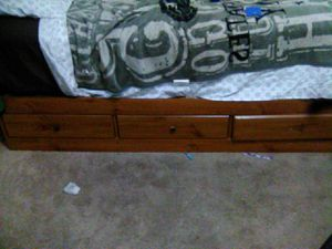 Twin bed frame with mattress for Sale in Yakima, WA