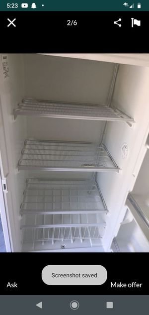 14.1 cu ft upright freezer. Ice cold. for Sale in NEW PRT RCHY, FL