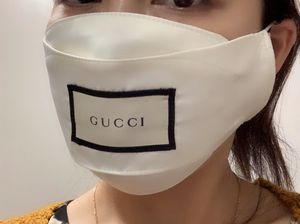 Own style Face Mask. Real Fabric of Gucci. 3 Layers with filter inside. Washable/Reusable. High quality. Luxury style. Perfect fit to face. Limited q for Sale in Brier, WA