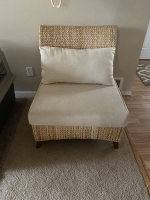 Pier One Woven Chair for Sale in Bend, OR