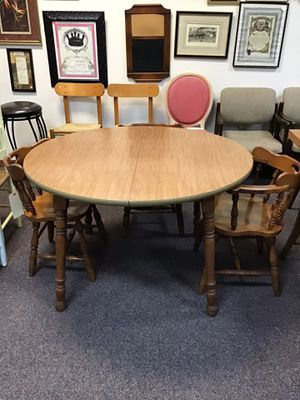 Table with three chairs for Sale in Jacksonville, NC
