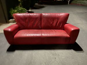 Leather couch for Sale in Lafayette, CA
