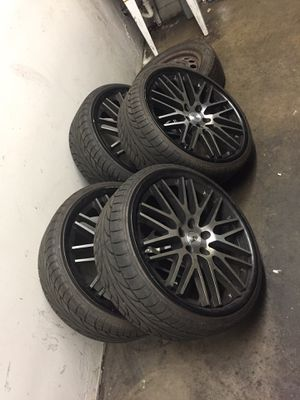 20 inch Verde wheels for a BMW for Sale in Stanton, CA