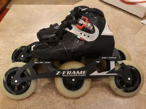 Luigino kids inline speed skates adjustable size 2 to 5 for Sale in Lacey, WA