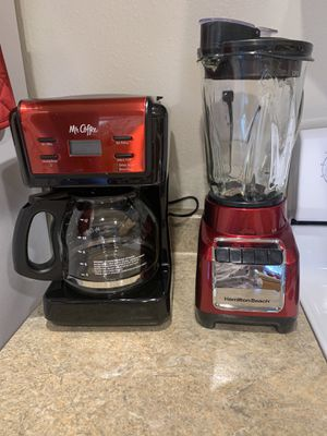 coffee maker and blender for Sale in Chico, CA