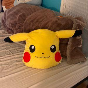 Pikachu Pokemon Cute Game Anime Japanese Stuffed Plushy Animal for Sale in San Jose, CA