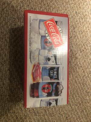 Brand New Vintage Coca Cola Glass Mugs/Coolers for Sale in Wyncote, PA