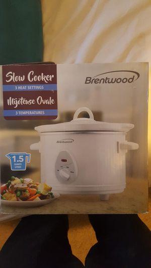 Brentwood 1.5qt crock pot for Sale in Derby, KS