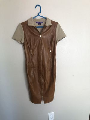 Ralph Lauren Blue Label Leather Dress for Sale in San Diego, CA
