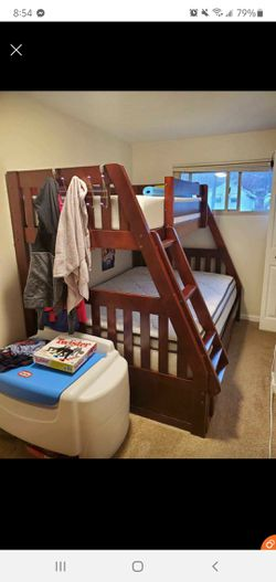 Twin Over Full Bunk Bed & Drawers for Sale in Pittsburgh,  PA