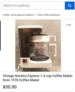 Norelco Coffee Maker for Sale in Union City, CA