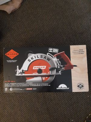 "10-1/4"" magnesium sawsquatch worm drive for Sale in Federal Way, WA"