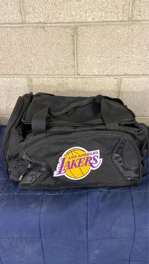 Lakers duffle bag for Sale in Rancho Cucamonga, CA