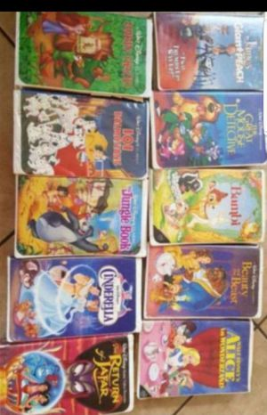 Disney vhs movies for Sale in Glendale, AZ