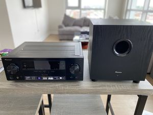 Pioneer 7.1 channel receiver and subwoofer for Sale in White Marsh, MD