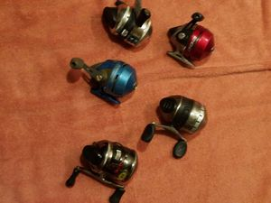 Reels all 5 for Sale in Fresno, CA