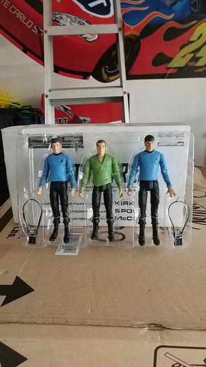 Star Trek action figures Kirk Spock McCoy for Sale in Puyallup, WA