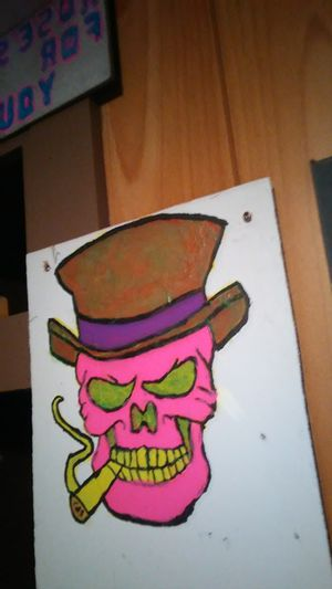 Skull face drawing for Sale in Morganfield, KY