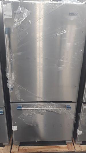 Maytag bottom freezer stainless steel refrigerator for Sale in Denver, CO