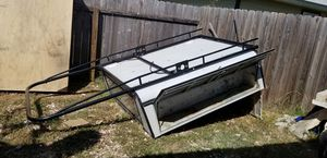 utility camper with rack for Sale in San Antonio, TX