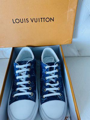Louis Vuitton | Monogram Elegant Style Low-Top Sneakers for Sale in North Miami Beach, FL