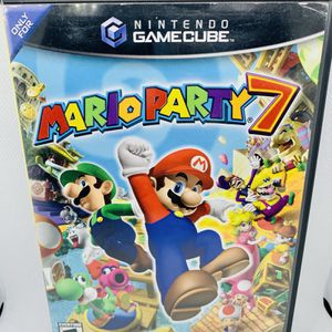 MARIO PARTY 7 Nintendo GameCube Black Label Tested for Sale in Puyallup, WA