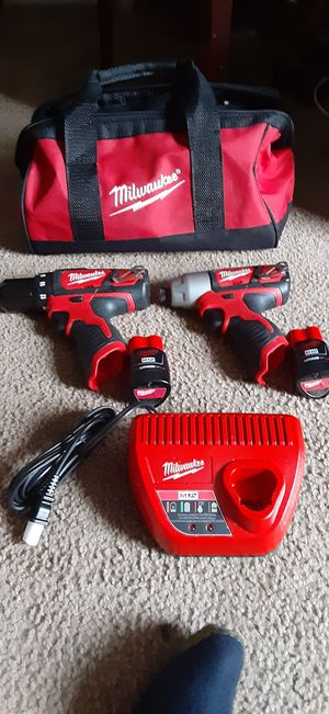 Milwaukee M12 combo kit for Sale in Seattle, WA