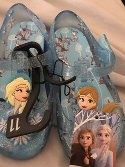 Little Girls Frozen Flats Size 11, I Also Have Items On Ebay for Sale in Camden,  AL