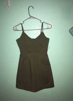 Olive green Charlotte Russe small dress for Sale in Surprise, AZ