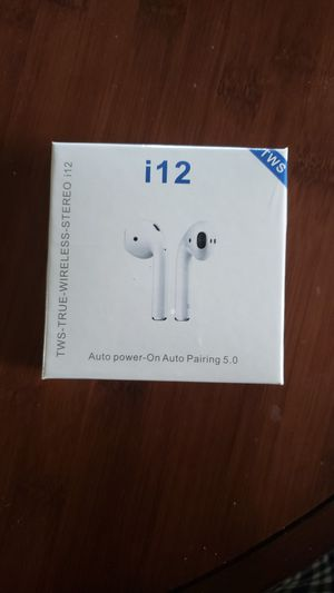 I 12 TWS bluetooth earphone for Sale in Minneapolis, MN