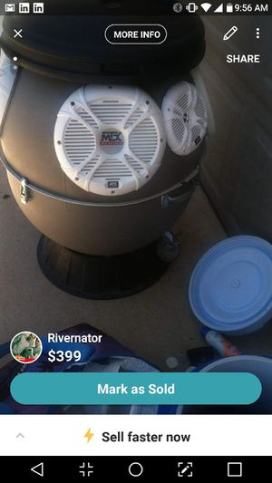 River nater includes 4 tens 500 watts two sixes 100 Watts for Sale in Tempe, AZ